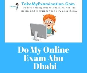 Do My Online Exam Abu Dhabi