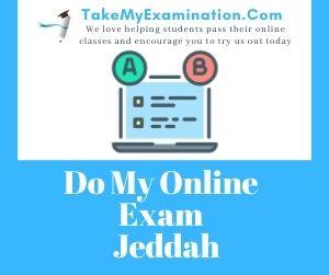 Do My Online Exam Jeddah