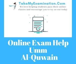 Online Exam Help Umm Al-Quwain