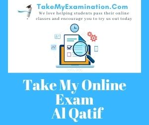 Take My Online Exam Al Qatif