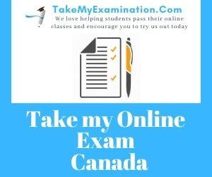 Take My Online Exam Canada