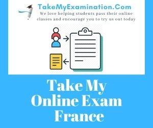 Take My Online Exam France
