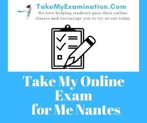 Take My Online Exam for Me Nantes